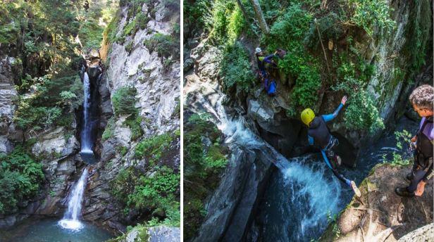 Canyoning - Megeve - Cordon - La Belle au Bois