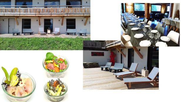 Terrasse du Mont Blanc - Terrasse + boco loco + Salle à manger